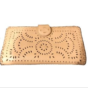 Cleobella Mexicana Wallet / Clutch in Neutral Nude